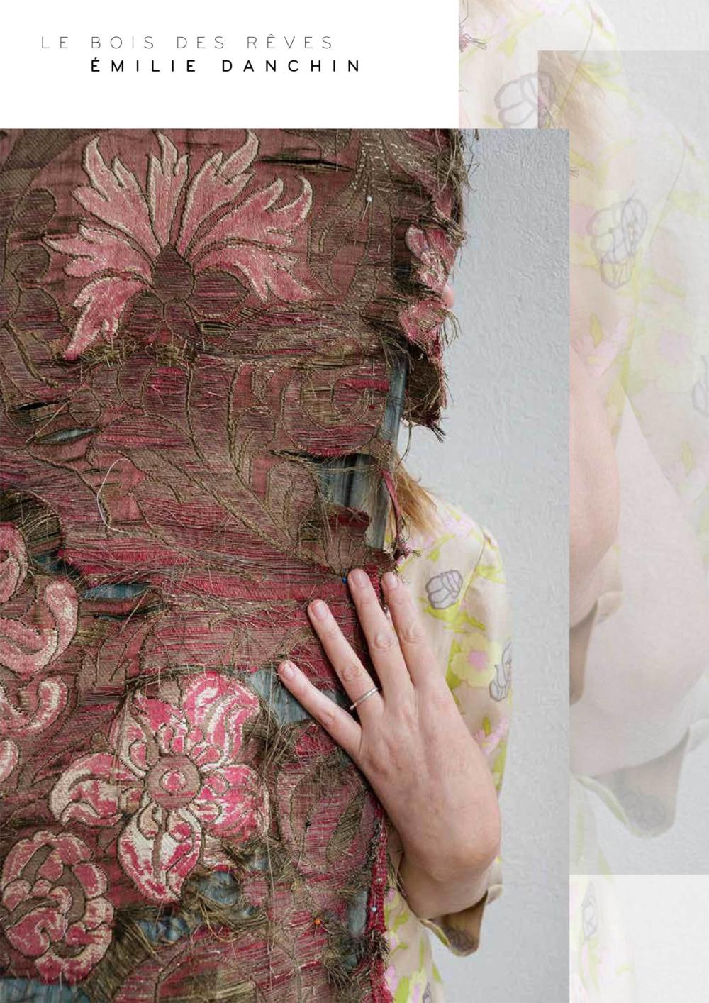 Le Bois des Rêves, livre photo d'Émilie Danchin (auto-édition, graphisme Catherine De Cocq, texte et photo Émilie Danchin) / couverture