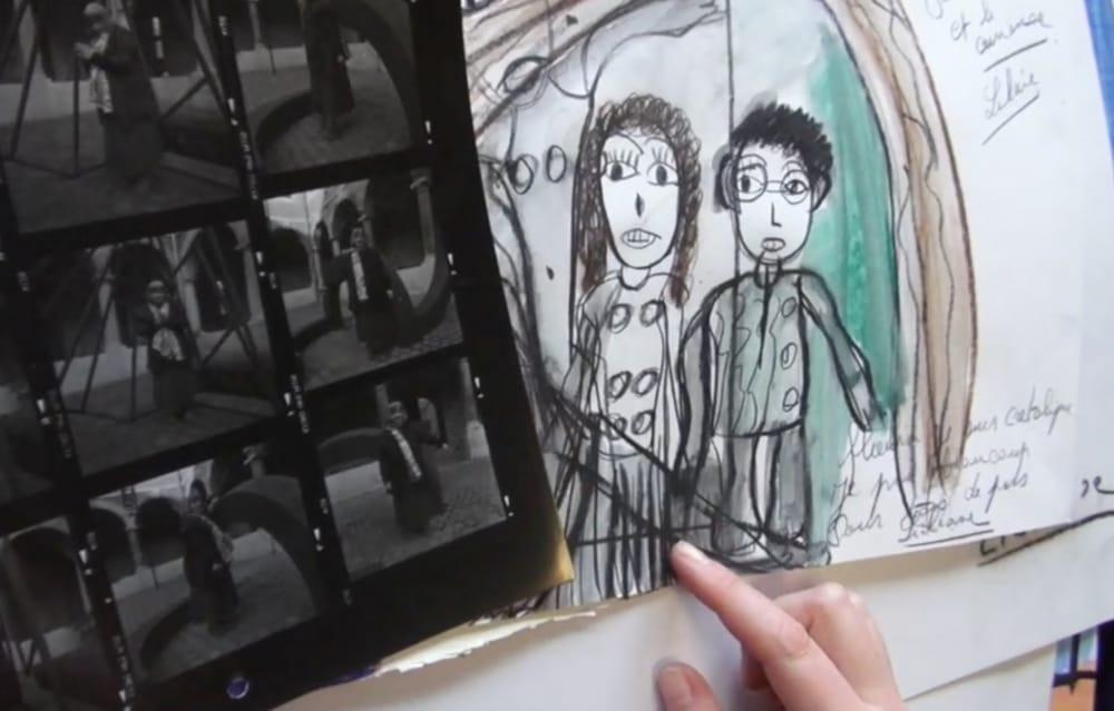 Vidéo 5 binômes et rencontres artistiques CREHAM de Liège, CAP 48