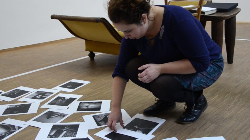 Magnolia et la Chambre claire, installation et performance d'Émilie Danchin à l'ISELP Institut Supérieur pour l'Étude du Langage Plastique, Bruxelles