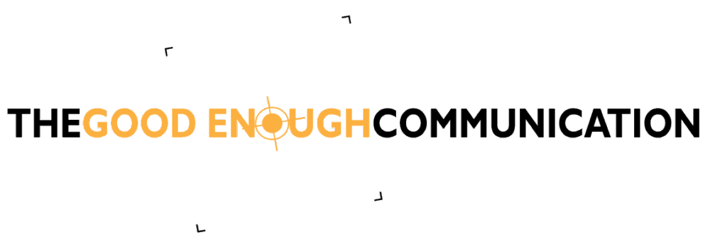 The Good Enough Communication logo @ Émilie Danchin